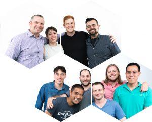 Photos of Sensei Labs team members