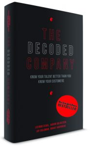 The Decoded Company book cover with NY Times bestseller seal