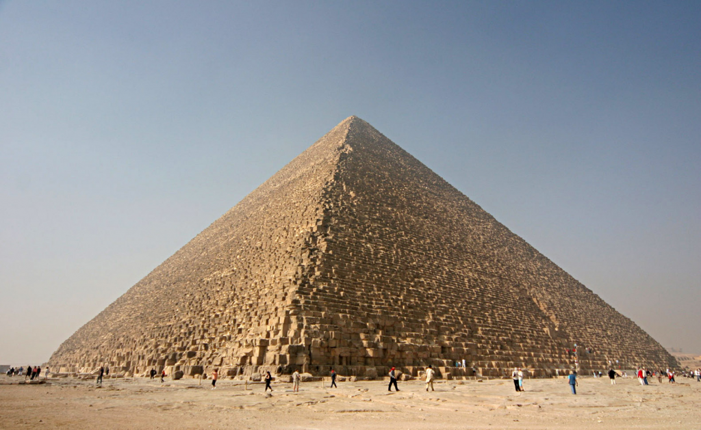 The Pyramids of Khufu/Giza