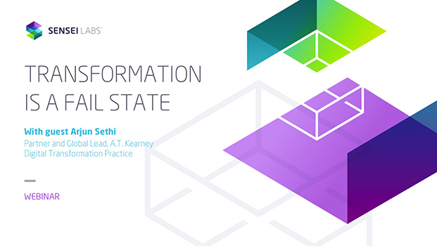 Transformation Is A Fail State with special guest Arjun Sethi