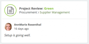 Green Project Review