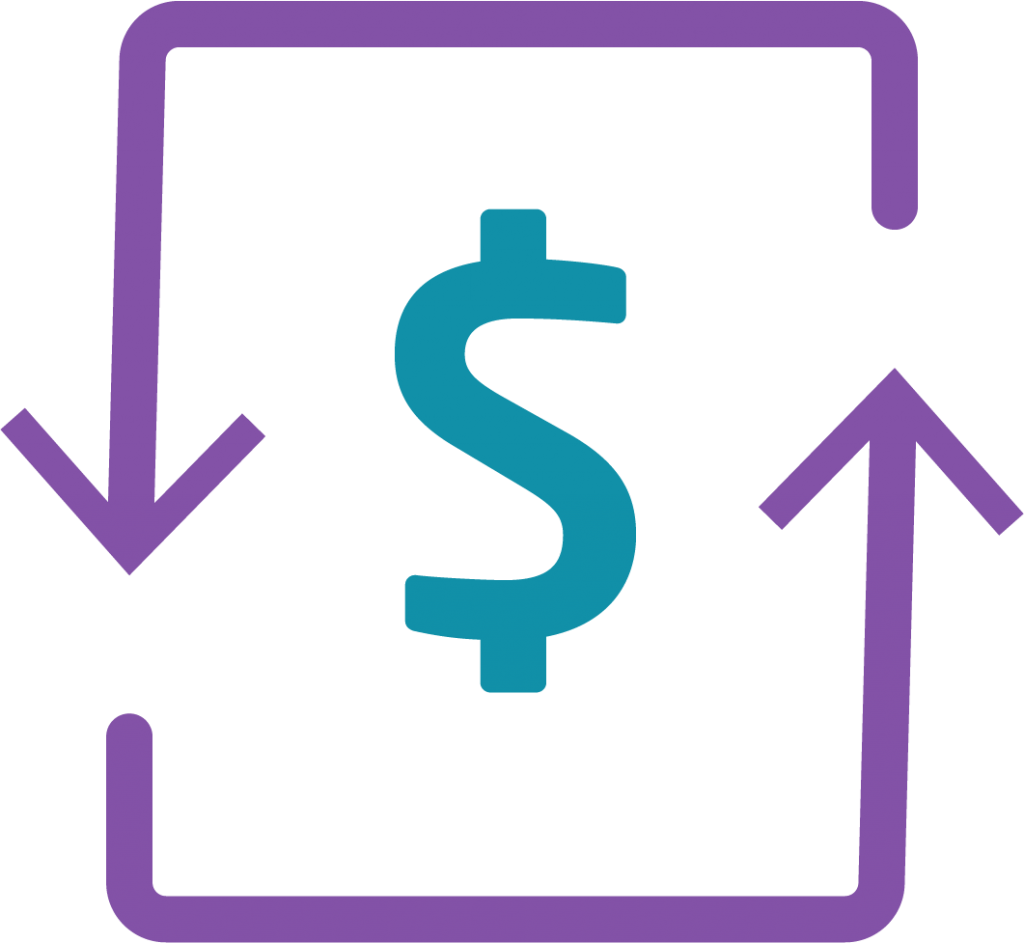 Sustainable value icon