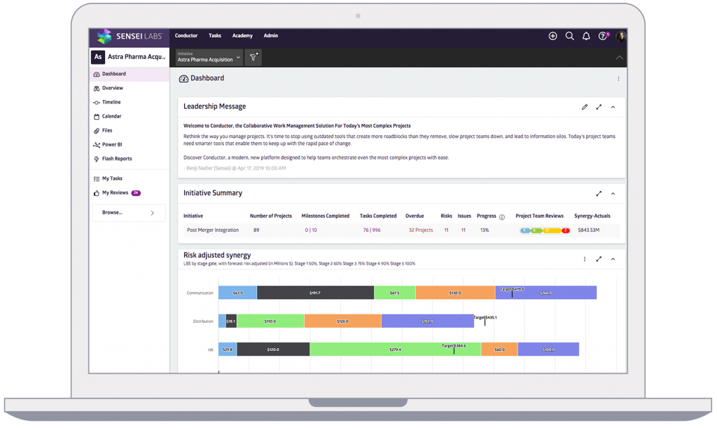 Conductor Dashboard