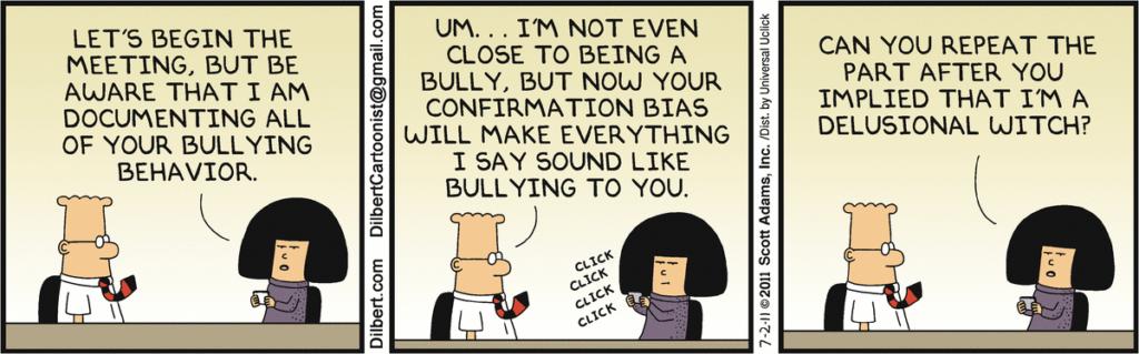 a Dilbert cartoon strip